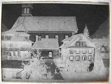 Boite 21 plaques photos 1915 Suisse Lucerne Ochsen négatifs bromure argent