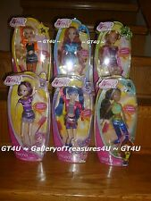 "LOT Winx Club CONCERT 6 11.5 - 12"" Dolls Bloom Musa Tecna Flora Stella Aisha"
