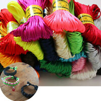 2.5mm 20m Chinese Knot Cord Long String Wire Thread DIY Necklace Bracelet