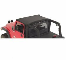Smittybilt Denim Standard Top w/ Windshield Channel for 97-06 TJ Wrangler 93315