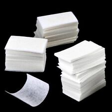 1000Pc Pads Nail Art Care Wipe Polish Acrylic UV Gel Tips Cotton Remover Cleaner