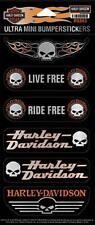 Harley Davidson Ensemble De Stickers Modèle Ultra Mini Autocollant