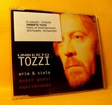 MAXI Single CD Umberto Tozzi Aria & Cielo 3TR 1997 PROMO Sticker Italo Pop Rock