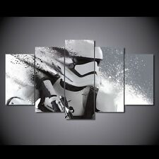5 Panels Star Wars Movies Painting Print On Canvas Wall Art Picture Home Décor