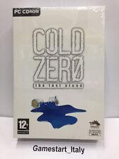 COLD ZERO THE LAST STAND (PC) VIDEOGIOCO NUOVO NEW GAME VIDEOGAMES