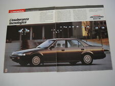 advertising Pubblicità 1989 HONDA ACCORD 2.0i -16