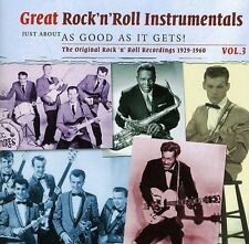 GREAT ROCK 'N' ROLL INSTRUMENTALS VOL.3 (The Impacs, The Storms uvm.) 2 CD NEU