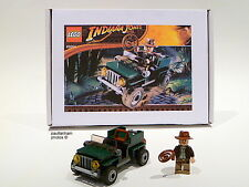LEGO INDIANA JONES JUNGLE CRUISER #20004 RARE EXCLUSIVE 100% COMPLETE GUARANTEE