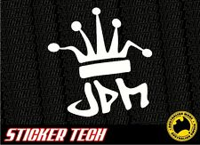 JDM KING CROWN STICKER DECALTO SUIT DRIFT CAR NISSAN SKYLINE R32 SILVIA S13 S15