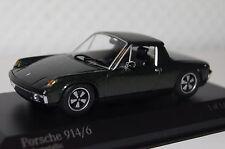 Porsche 914/6 1970 grün metallic 1:43 Minichamps neu + OVP 400065060