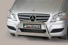 "Mercedes Vito/Viano  2010-2015  Ø63mm BULL BAR NUDGE BAR ""CE APPROVED""Frontbügel"