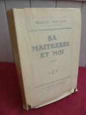 CURIOSA / SA MAITRESSE ET MOI Marcel Prévost tirage de Tete n° 41/65 sur Holland