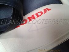 Honda long seat saddle gray/off white COVER C50 C100 C102 Stain PLEASE READ!!!!
