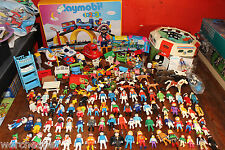 MASSIVE PLAYMOBIL LOT 91+ FIGURES 22 ANIMALS PLUS TONS OF ACCESSORIES PARTS SETS