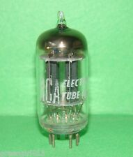 RCA 12AU7 ECC82 Black Plate D-Getter Vacuum Tube  Results = 1845/2095