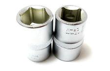 """1/2 """"dr 17mm sockets set de 2, mécanique, garages. quads, motos nouveau ss076"""