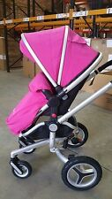 SILVER CROSS SURF 2 PUSHCHAIR USED GOOD CONDITION PINK STROLLER PUSHCHAIR