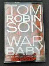 Tom Robinson War Baby/Blood Brother/ We didn,t know 1992 Cassingle Mega rare