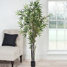 Large Indoor Outdoor Fake Artificial 5 Foot Japanese Bamboo Tree