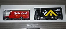 Herpa Mercedes-Benz Transport-Magazin 2er Set Felix Hopf in 1:87 OVP