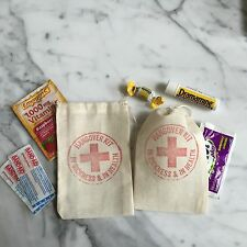 Hangover Kit Wedding Favor Bag (set of 10)