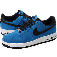 NEW NIKE CLASSIC AIR FORCE 1 SHOES 488298 424 BLACK MILITARY BLUE MEN'S SIZE 16
