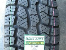 4 New LT 265/75R16 Westlake SL369 Tires 75 16 R16 2657516 AT All Terrain 10 Ply