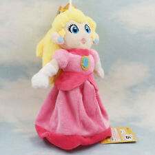 Nintendo Super Mario Bros Plush Princess Peach Soft Toy Stuffed Animal Figure
