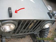 2 x new Hood Rubber Bumper Jeep M151 A1 A2 Willys CJ M38