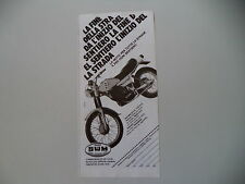 advertising Pubblicità 1980 MOTO SWM GTS RACING 315