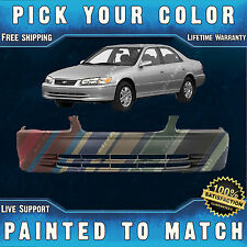 NEW Painted to Match - Front Bumper Cover Replacement For 2000 2001 Toyota Camry