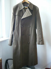 Very Cool military style green Clements Ribeiro rain coat Sz M