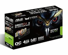 ASUS STRIX GeForce GTX 970 Overclocked 4 GB DDR5 256-bit DisplayPort HDMI 2.0 DV