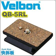 NEW BOXED GENUINE Velbon QB-5RL Quick release Vel-flo 7 PH-358 CX-586 QB5RL