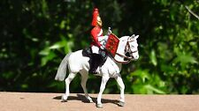 W Britains Scots Life Guard Trumpeter White Horse Toy Soldiers