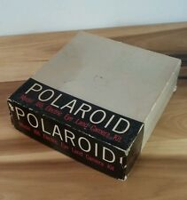 Rare Mint Vintage Polaroid Land Camera J66 with Box and Paper work