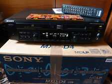 Sony Kopierstation MXD-D4 - Minidisc + CD Player - CD Text  -  MDLP - in  OVP