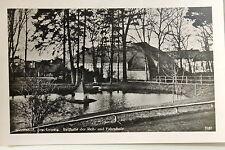 24309 Foto AK Wermsdorf Bez. Leipzig Reithalle der Reit- und Fahrschule 1943