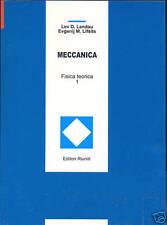 Landau Lifsits MECCANICA - FISICA TEORICA VOL. 1 meccanica razionale e classica