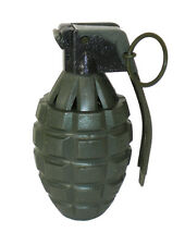 Toy GREEN Pineapple Hand Grenade Sound Effects Ticking/Explosions - 1 Piece
