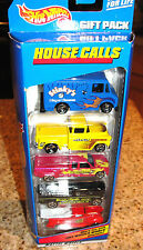 VINTAGE HOUSE CALLS HOT WHEELS 5-GIFT PACK 1998 #21080