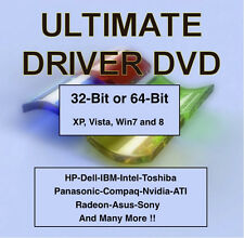 Easy Windows Drivers DVD - Install Any Missing Driver For Window 8 7 Vista XP