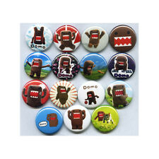 DOMO - PINS BUTTONS BADGES (domokun kids toys tv show game plush etc)