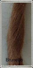English Mohair for Reborn or Porcelain Doll wigs - Brunette, 25gm-30gm pack