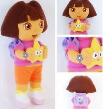 DORA THE EXPLORER Kids Girls Soft Cuddly Stuffed Plush Toy Doll Toys FREE POST