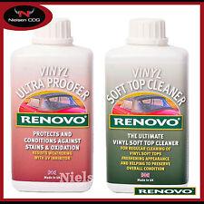 Renovo Vinyl Cleaner & Vinyl Ultra Proofer Kit