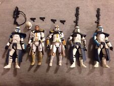 Star Wars ARC Clone Troopers Lot of 5 Loose
