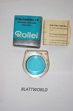 NEW GENUINE ORIGINAL ROLLEI ROLLEIFLEX BRAND BAY II GROUP II LIGHT BLUE FILTER