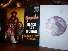 Geordie (AC/DC) Black Cat Woman Bellaphon 1973 7""
