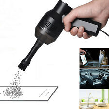 New Black Mini USB Vacuum Cleaner Collector For Laptop iMAC Computer Keyboards